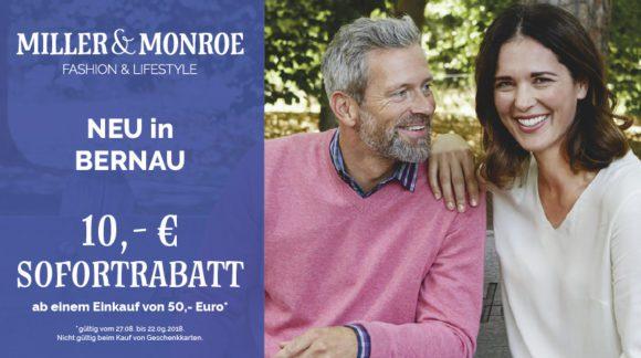 Miller & Monroe jetzt im Forum Bernau