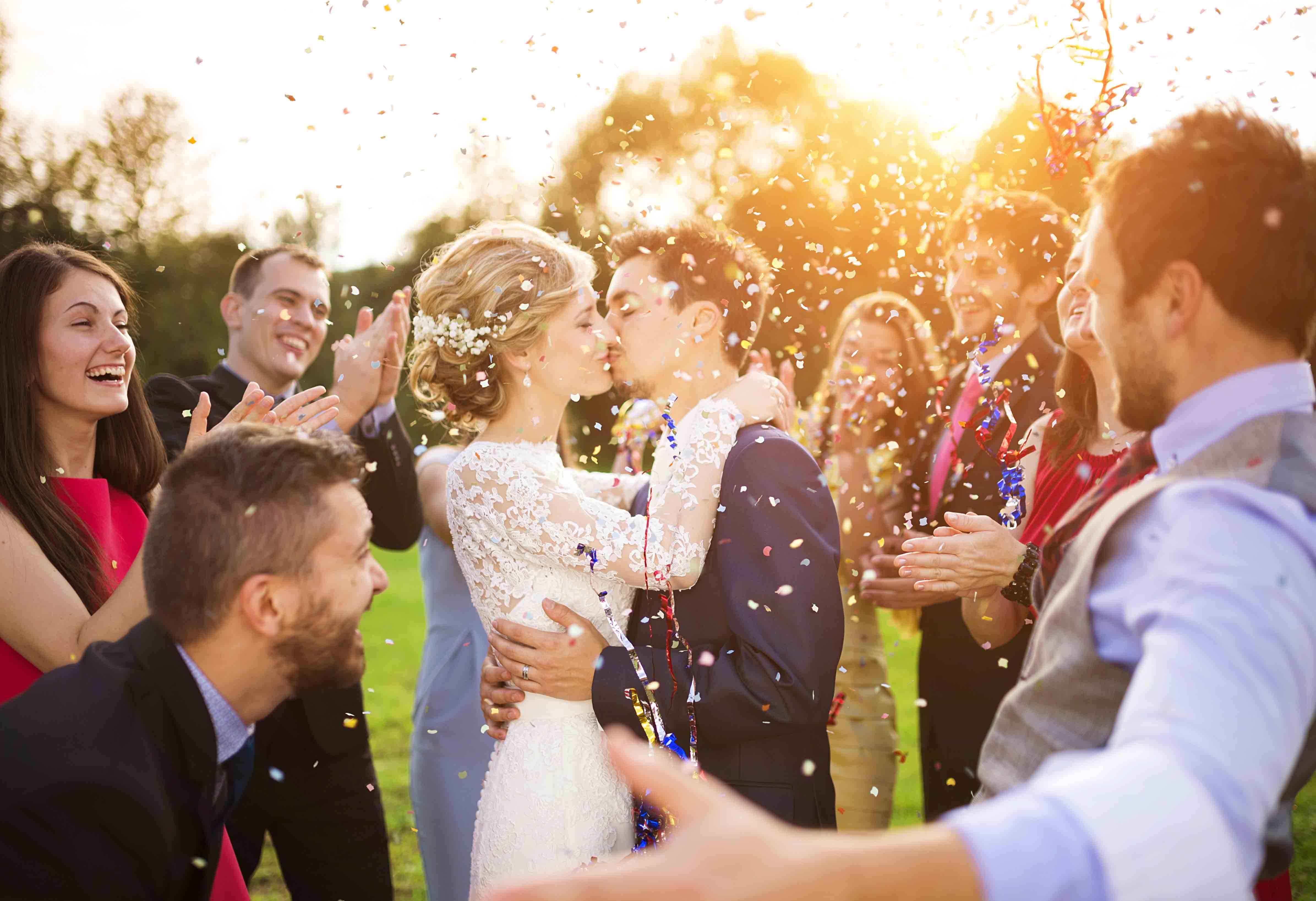 Fit für die Hochzeits-Saison