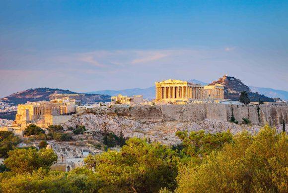 Akropolis, Santorini, Rhodos
