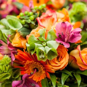 Blumenbotschaften jeder Art